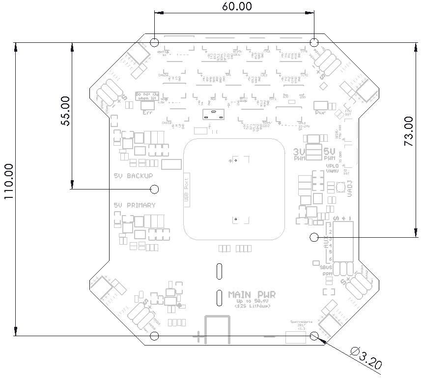 Pixhawk 2 Cube Wiring Diagram from docs.spektreworks.com